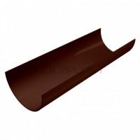 Водосточный желоб, коричневый Holzplast