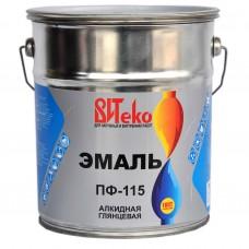 Эмаль ПФ-115 ВИТЕКО Хаки 5 кг.