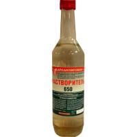 Растворитель 650 стеклобутылка 0,5 л