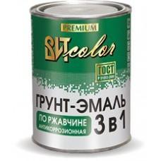 Грунт-эмаль по ржавчине 3 в 1 ВИТ color Зеленая 20 кг