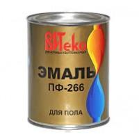 Эмаль для пола ПФ-266 ВИТЕКО Желто-коричневая 0,8 кг.