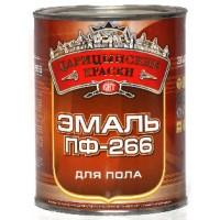 Эмаль для пола ПФ-266 Желто-коричневая 1,9 кг