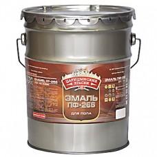 Эмаль для пола ПФ-266 Золотисто-коричневая 10 кг