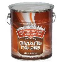 Эмаль для пола ПФ-266 Золотисто-коричневая 5 кг