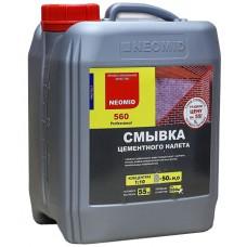 Очиститель (смывка) цементного налета NEOMID 560 - 5 л, концентрат 1:10
