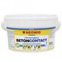 Адгезионный грунт по бетону и штукатурке NEOMID BETONCONTACT - 1,3 кг