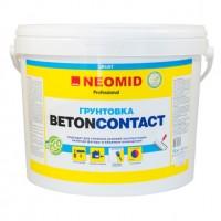 Адгезионный грунт по бетону и штукатурке NEOMID BETONCONTACT - 3 кг