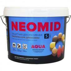 Алкидный декоративный деревозащитный состав NEOMID BiO COLOR Aqua - 2,7 л