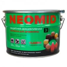 Алкидный декоративный деревозащитный состав NEOMID BiO COLOR Classic - 9 л