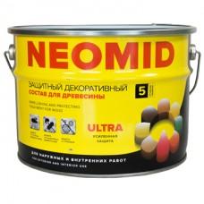 Алкидный декоративный деревозащитный состав NEOMID BiO COLOR Ultra - 9 л