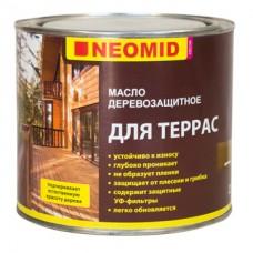 Масло деревозащитное для террас NEOMID - 2 л