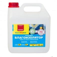 Грунт-влагоизолятор NEOMID ВлагоStop Bio - 3 л, концентрат 1:4