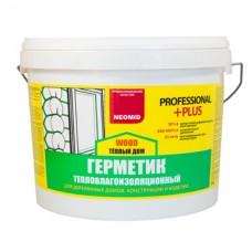 Герметик строительный NEOMID ТЕПЛЫЙ ДОМ Wood Professional PLUS - 15 кг
