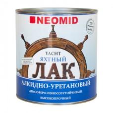 Лак яхтный алкидно-уретановый NEOMID YACHT - 0,75 л  глянц.