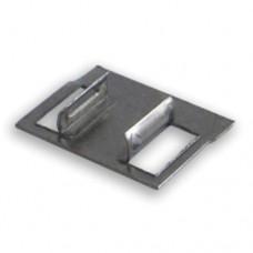 Клипса монтажная для стеновых панелей белый (3 м) NEXUS