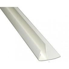 F-профиль 30 мм для стеновых панелей белый (3 м) NEXUS