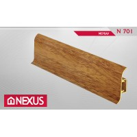 Плинтус с мягким краем и кабель-каналом (58 мм) - Мербау