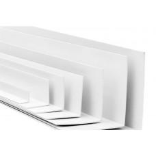 Угол отделочный ПВХ белый (2,7м) 20х20 Nexus