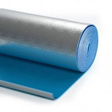 Вспененный полиэтилен СФ-10 c односторонним фольгированием и клеевым слоем
