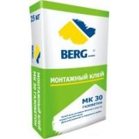 Клей монтажный МК30 газобетон BERGhome, 25кг