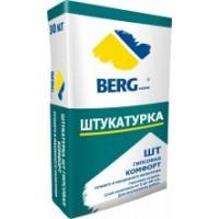 Штукатурка ШТ Комфорт (гипс) BERGhome, 30кг