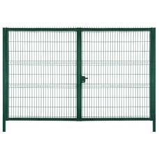 Ворота распашные, высота 1,53 м