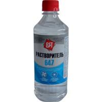 Растворитель 647 ПЭТ 0,5 л