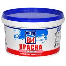 Краска фасадная супер-белая (вак-25) 6 кг