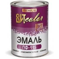 Эмаль ПФ-115  ГОСТ ВИТ color Белая 0,8 кг
