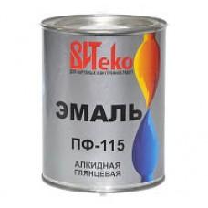 Эмаль ПФ-115 ВИТЕКО Белая 0,8 кг.