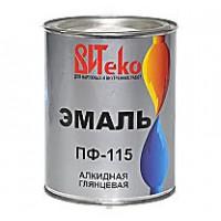 Эмаль ПФ-115 ВИТЕКО Красная 5 кг.