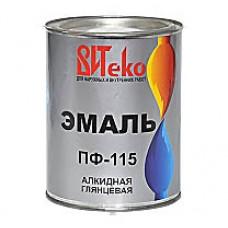 Эмаль ПФ-115 ВИТЕКО Салатная 1,8 кг.