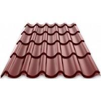Металлочерепица «Монтеррей», Шоколадно-коричневый (RAL 8017), полиэстр