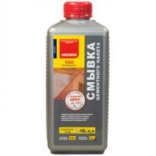 Очиститель (смывка) цементного налета NEOMID 560 - 1 л, концентрат 1:10