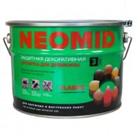 Алкидный декоративный деревозащитный состав NEOMID BiO COLOR Classic - 2,7 л