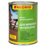Масло деревозащитное для мебели и интерьеров NEOMID - 0,75 л