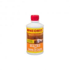 Масло деревозащитное для бань и саун NEOMID - 0,25 л