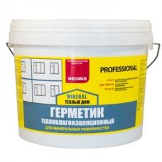 Герметик строительный NEOMID ТЕПЛЫЙ ДОМ Mineral Professional - 15 кг