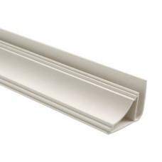 Плинтус потолочный для стеновых панелей белый (3 м) NEXUS