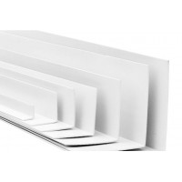 Угол отделочный ПВХ белый (2,7м) 10х10 Nexus