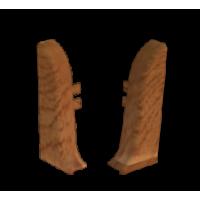 Заглушка торцевая левая к плинтусу Nexus, дуб антик