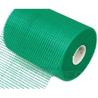 Сетка фасадная зеленая Fiberon, 160 г/м2  (рулон 20 м2)