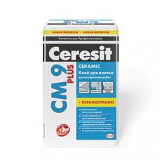 Плиточный клей СМ 9 Plus Ceresit, 25 кг