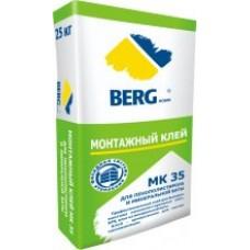Клей монтажный МК35 д/пан. из пеноп.и мин.ваты BERGhome 25кг