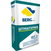 Штукатурка ШТ1 Стандарт BERGhome, 30кг