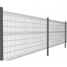 3D секция «ЭКОНОМ», ячейка 200x50 мм,  диам. проволоки 5,0 мм